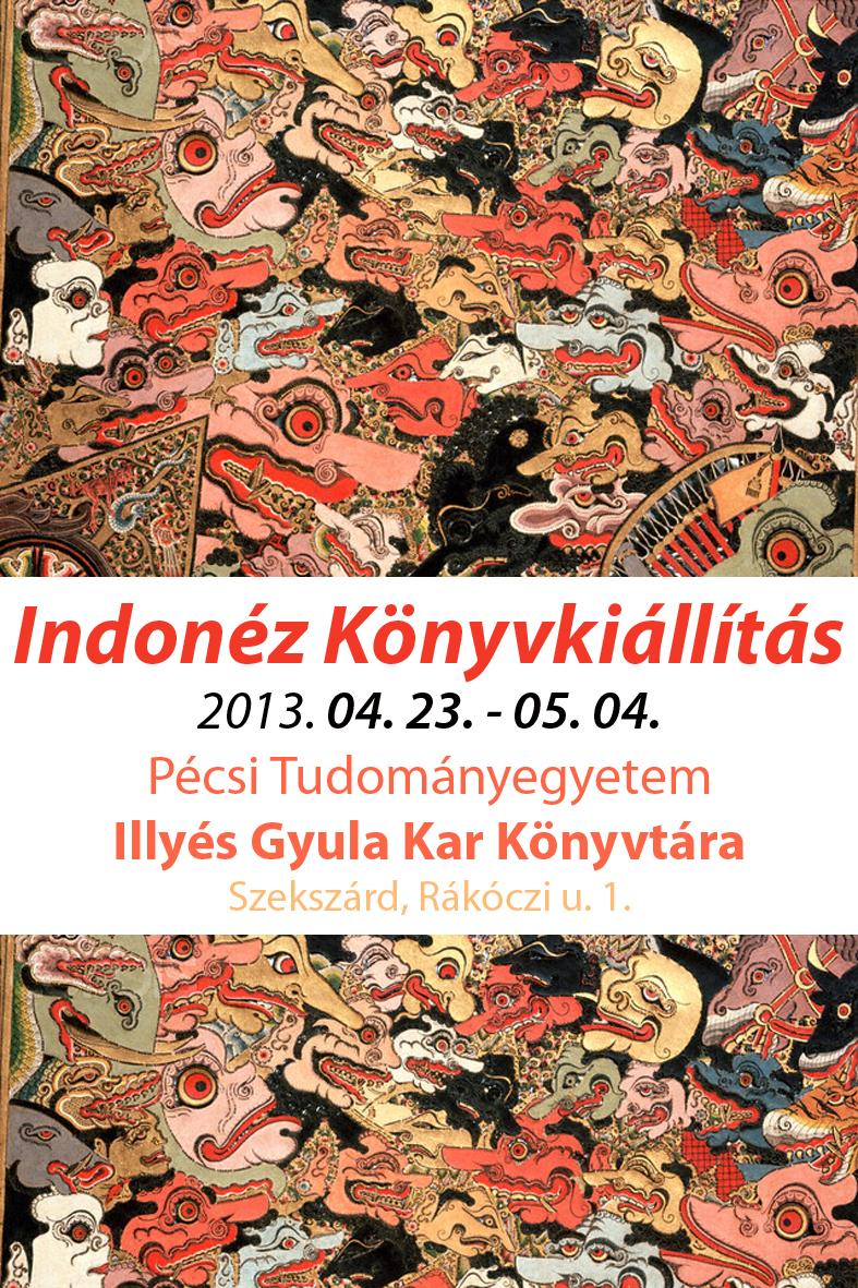 indonéz könyvkiállítás